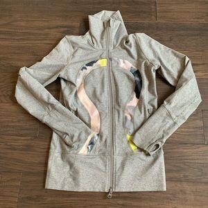 Lululemon In Stride jacket Citron tinted canvas 4